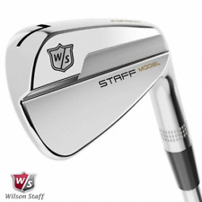 WILSON STAFF MODEL BLADE IRONS 3-PW +DYNAMIC GOLD S300 SHAFTS / NEW FOR 2020