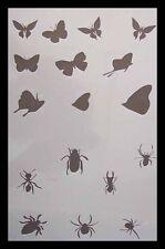 Airbrush Schablone Step by Step 359 Falter und Insekten