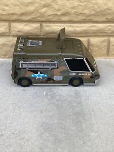 Vintage Lewis Galoob MICRO MACHINES Military Army Van 1991