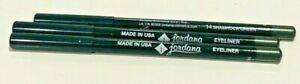 JORDANA LONGWEAR Eyeliner Pencil 14 SHAMROCK GREEN BUNDLE OF 3 EYELINER
