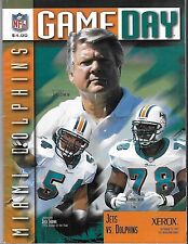 MIAMI DOLPHINS Vs NY Jets Gameday October 12, 1997