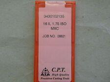 Gewindeplatten von CPT, 16IL 1,75 ISO MXC