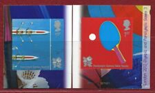 SG3107/8 - 2 x 1st SELF ADHESIVE STAMPS FROM THE GAMES 3 BOOKLET  PM24
