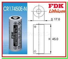 batteria FDK 17450 CR8L 4/5A cr17450e-n pila litio Li-Mn02 3v 2600mAh