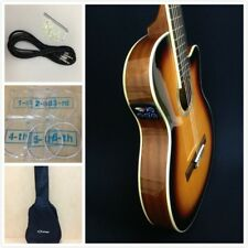 "Caraya C-551BCEQ/BS 39"" Thin-Body Semi-Classical Guitar w/Truss Rod+Free Gig Bag"