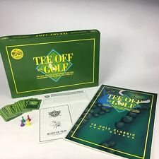Tee Off on Golf 18 Hole Tournament Match Skins Complete Vintage 1994 Board Game