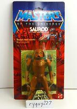 MOTU, Saurod, Masters of the Universe, MOC, carded, figure, He Man, sealed, MOSC