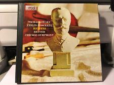 TSCHAIKOVSKY - Concerto In D: Heifetz/Reiner Chicago Symphony Japan XRCD2 JVC CD
