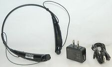 Genuine Lg Tone Pro Hbs-750 Wireless Headphones Black Bluetooth-3.0 Headset -C-