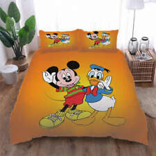 Mickey Mouse Presents 3D Print Duvet Quilt Doona Covers Pillow Case Bedding Sets