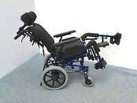 Sense Alu-Rehab Sitzbreite 35-40 Pflegestuhl Rollstuhl Pflegerollstuhl (75641)
