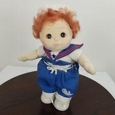 "Vtg 1985 Mattel My Child Sailor Boy Red Hair Brown Eyes Jointed 14"""