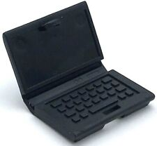 Lego New Black Minifigure Utensil Personal Office Computer Laptop with Keyboard
