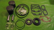 532 Rotax Aircraft Engine Piston Top End Rebuild Kit 72.25 W bearings & Gaskets