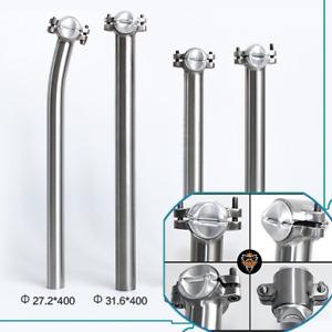 22.2/25.4/27.2/30.9/31.6/34.9mm Titanium Bicycle Bike Clip pipe clamp SeatPost