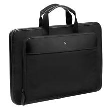 116775 Montblanc / NightFlight / borsa porta documenti o computer notebook / pel