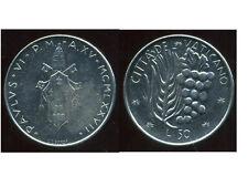 ITALIE  ITALY  vatican  50 lire  1977  ( PAUL VI )