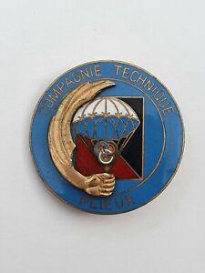 Parachutistes: BOMAP, Compagnie technique, Plieur ouverture retardée, segalen