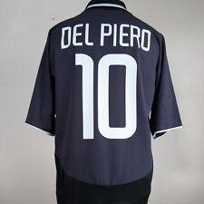 Juventus Away Football Shirt Adult XL DEL PIERO #10 2003/2004