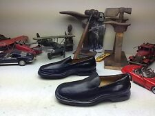 COLE HAAN NIKE AIR BLACK LEATHER SLIP ON SUMMER LOAFERS 8.5 D