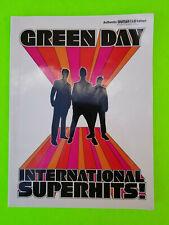 Green Day International Superhits Sheet Music Book, Guitar Tab Folio