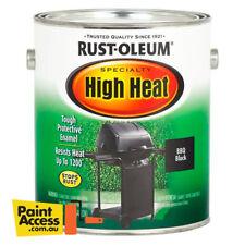 Rustoleum Rust-Oleum High Heat Satin Black 236ml Paint BBQ Grill Stove Fireplace