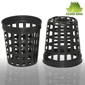 50  1.75  Inch Mesh  Pots for Hydroponic  Aeroponic Use