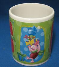 Disney Piglet Tigger Winnie the Pooh Holiday Christmas Mug Cup New Cocoa Coffee