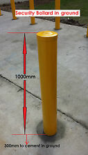 Security Bollard Safety Yellow for Industrial & Commercial