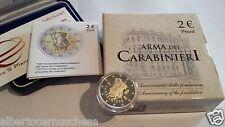 2 euro Italia 2014 Proof BE PP Fs 200 Carabinieri CC Italie Italy Italien Италия