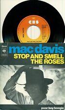 """MAC DAVIS - Stop and Odeur the Roses 1974 7"""" S7117"""