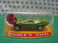 Vintage  -  Alfa  Romeo  IGUANA           - 1/43  Politoys-M 14