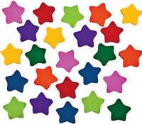 Pack of 40 - Mini Star Rubber Erasers -  Teacher Rewards