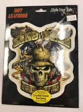 """New Military """"Land of the Free"""" Sticker / Decal Army Navy Marines Air Force"""