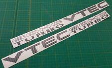 Civic SOHC VTEC TURBO side door decals s stickers graphics JDM D15 D16 D Series