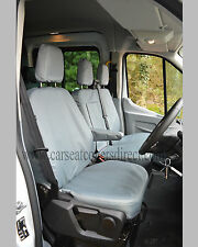 Ford Transit MWB Extra Heavy Duty Seat Covers - Grey