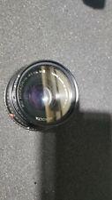 Minolta MD Rokkor 45mm 1:2 Camera Lens Made Japan
