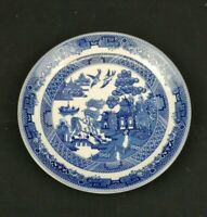 Johnson Brothers Blue Willow Saucer Blue and White