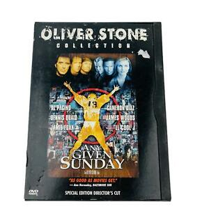Any Given Sunday DVD 2001 2-Disc Set Oliver Stone Collection Al Pacino