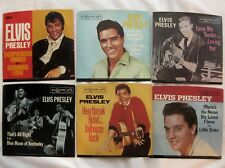 ELVIS PRESLEY Golden Singles Vol.2 SIX COLORED VINYL 45rpm Records & Pic Sleeves