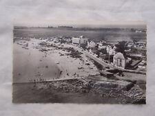 Ancienne carte postale vue du ciel Port Haliguen plage du Porigo en Quiberon