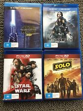 Star Wars 3D Blu-Ray Collection 3-disc Sets