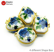 Blue China Ceramics Multi Purpose Box Set for Collection Jewelry Box Gift box27