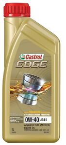 Castrol EDGE 0W-40 A3 B4 Engine Oil 1L 3383430