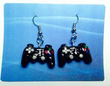 Playstation Video Game Controller Earrings
