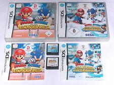 Spiele: MARIO & SONIC OLYMPISCHE SPIELE + WINTERSPIELE Nintendo DS + Lite 3DS XL