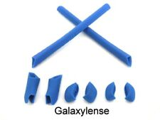 Galaxy Earsocks & Nose Pad Rubber Kit For Oakley Half Jacket XLJ Sunglasses Blue
