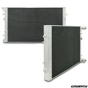 40mm ALLOY TWIN CORE RADIATOR RAD VOLKSWAGEN VW GOLF MK4 1.4 1.6 1.8 2.0 GTI TDI