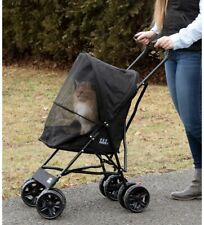Pet Gear Travel Lite Pet Stroller for Cats and Dogs Black New In Box!