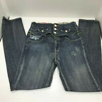 Pepe Jeans Kinsey Womens Stretch Distressed Faded Jeans Size 30